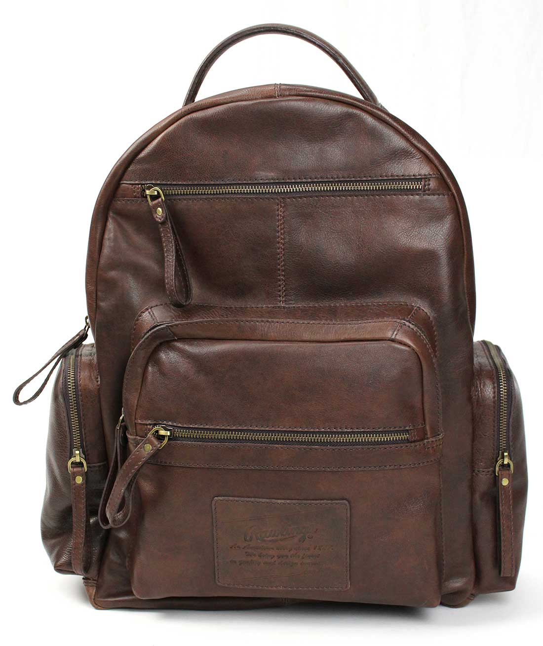 Rawlings Rugged Leather Backpack