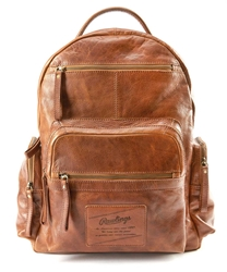 Rawlings Rugged Vintage Leather Backpack