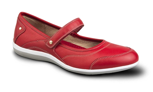 Revere - Adelaide - Red - Women's Mary Jane