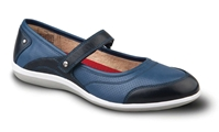 Revere - Adelaide - Navy - Women's Mary Jane