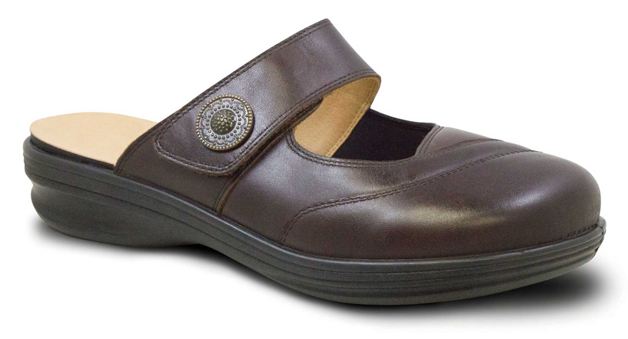 Revere - Brussels - Chocolate - Womens Sandal
