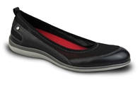 Revere - Charlotte - Black - Women's Slip-On
