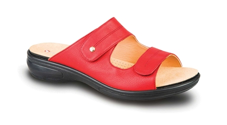 Revere - Florence - Red - Womens Sandal