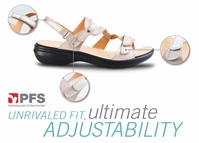 Revere Calais - Women's Sandal - Wide - Extra Depth with Removable Foot Beds - REV-34CALA