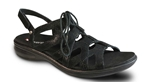 Revere Malibu Sandal - Women's Lace-Up Sandal - Medium - Wide - Extra Depth with Removable Foot Beds