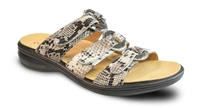 Revere - Moscow - Natural/Snake/Leather - Women's Sandal