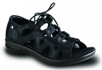 Revere Napier Gilly Sandal - Women's Lace-Up Sandal - Medium (B) - Wide (D) - Extra Depth with Removable Foot Beds