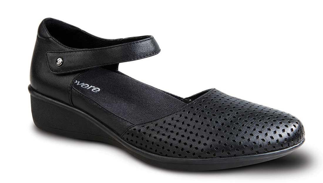 Extra Wide Width Women S Black Shoes