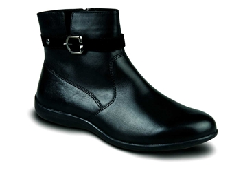 Revere - Prague- Black - Womens Bootie