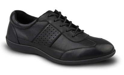 Revere - Seattle - Black- Womens Lace-Up