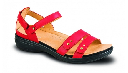 Revere - Vienna - Red - Womens Sandal
