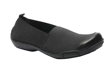 Ros Hommerson Caruso Black/Stretch Casual Shoe