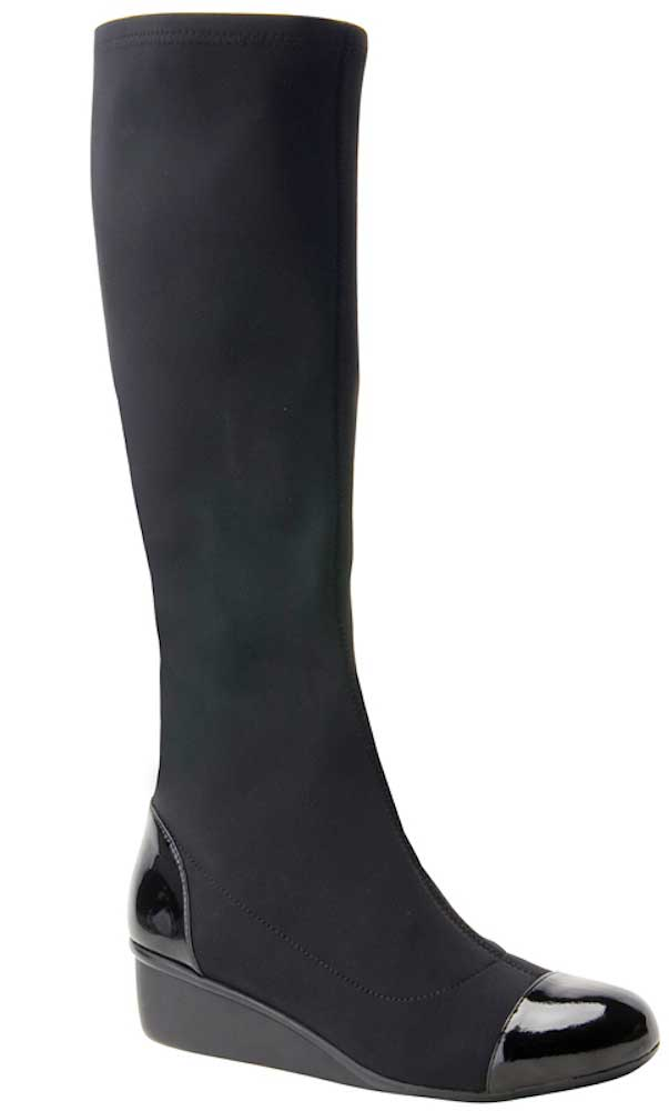 Ros Hommerson Ebony - Black Stretch/Patent