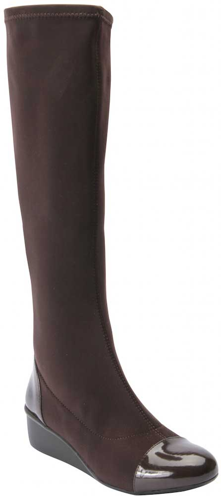 Ros Hommerson Ebony - Brown Stretch/Patent