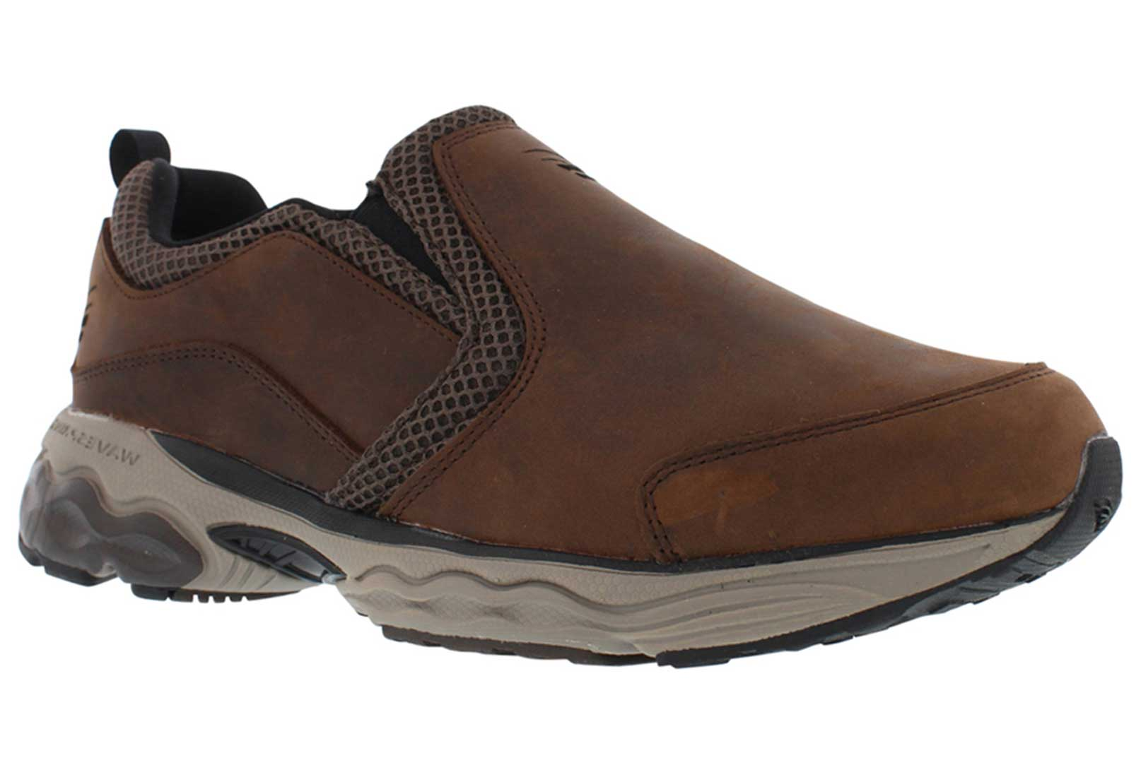 Spira Footwear - Mens Taurus Leather Moc Walking Shoe