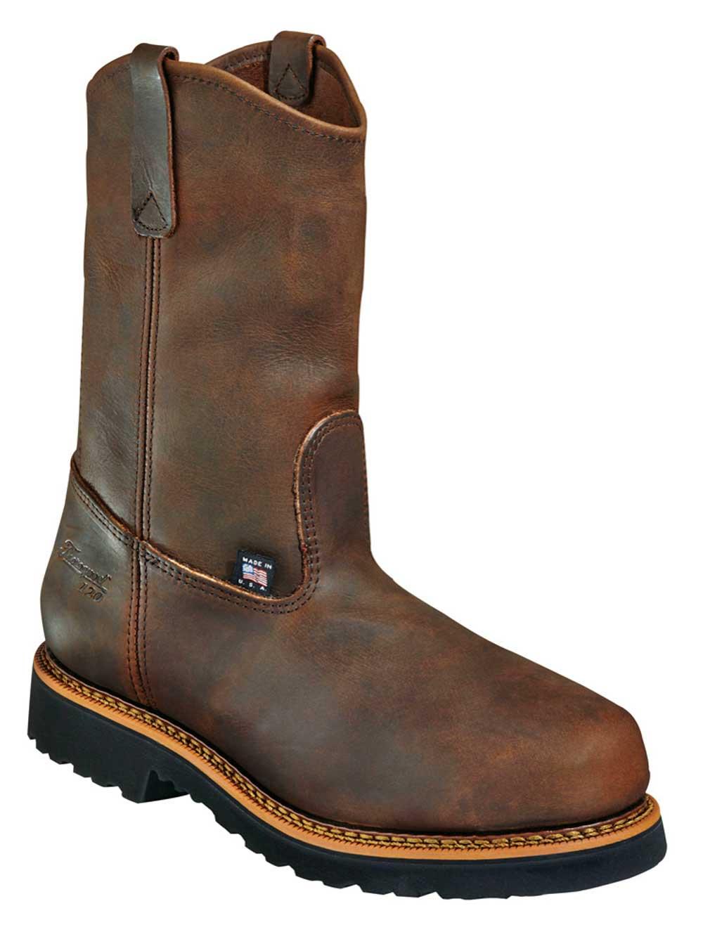 Steel Toe Wellington Work Boot (U.S.A.