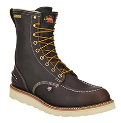 "Mens Thorogood 8"" WP Wedge Sole Work Boot"