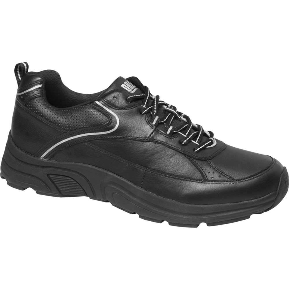 Drew Shoes - Aaron - Black Leather - Athletic Shoe