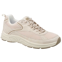 Drew Shoes - Aaron - Cream Suede / Mesh - Athletic Shoe