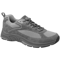 Drew Shoes - Aaron - Grey Suede / Mesh - Athletic Shoe