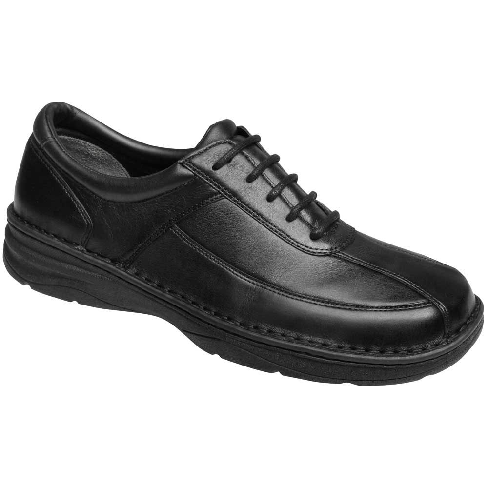 Drew Shoes - Arlington - Black Leather - Casual Shoe