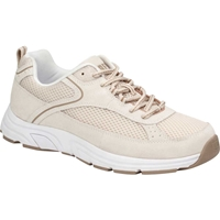 Drew Shoes - Athena - Cream Suede / Mesh - Athletic Shoe