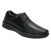 Drew Shoes - Bexley - Black Leather - Casual, Dress