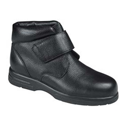 Drew Shoes - Big Easy - Black Leather - Boot Shoe