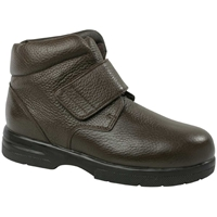 Drew Shoes - Big Easy - Brown Leather - Boot Shoe
