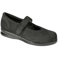 Drew Shoes - Bloom II - Black Nubuck Leather - Casual, Dress