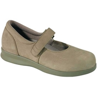 Drew Shoes - Bloom II - Taupe Nubuck Leather - Casual, Dress