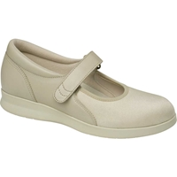 Drew Shoes - Bloom II - Bone Stretch Material - Casual, Dress