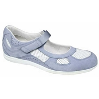 Drew Shoes - Delite - Blue Leather / Mesh - Casual Shoe