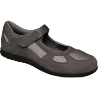 Drew Shoes - Delite - Grey Stretch Leather / Mesh - Casual Shoe