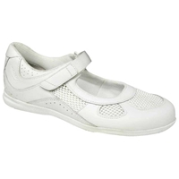 Drew Shoes - Delite - White Leather / Mesh - Casual Shoe