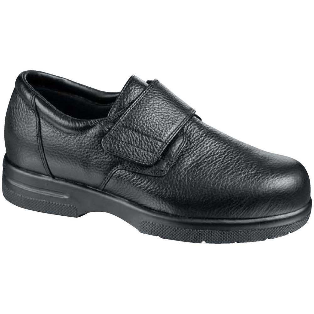 Drew Shoes - Easy II - Black Leather - Casual Shoe