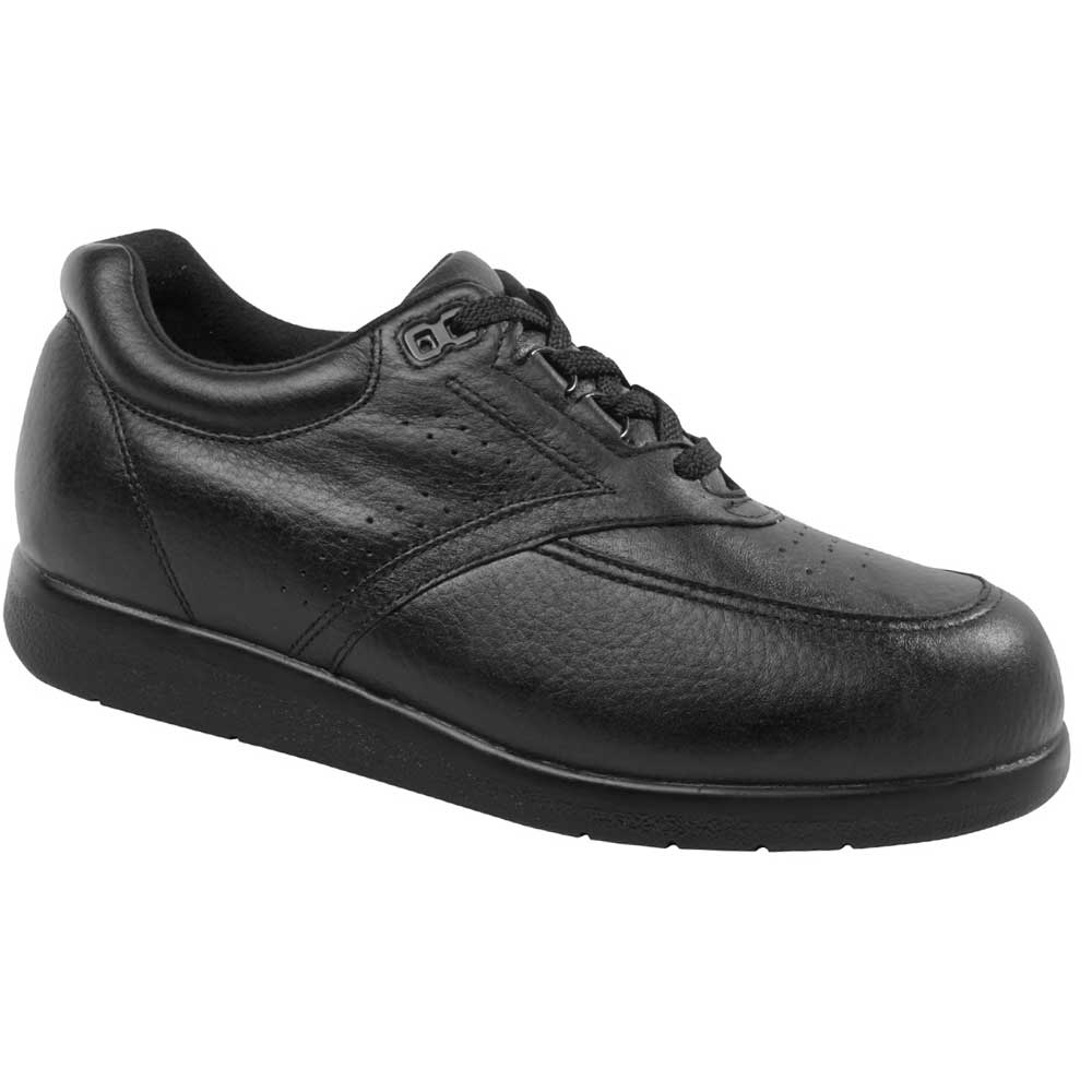 Drew Shoes - Expedition II - Black Leather - Casual Shoe