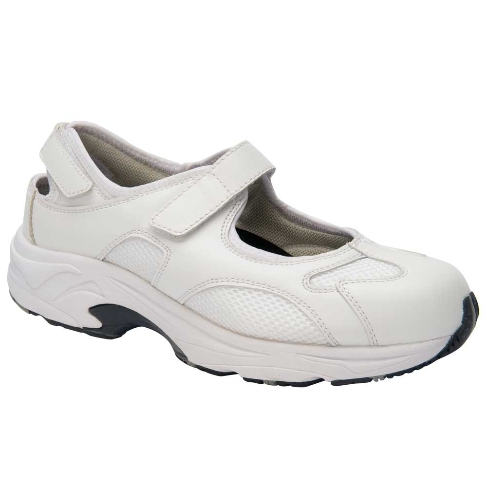 Drew Shoes - Flame - White Leather / Mesh - Athletic Shoe