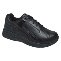 Drew Shoes - Force - Black Leather - Athletic Shoe