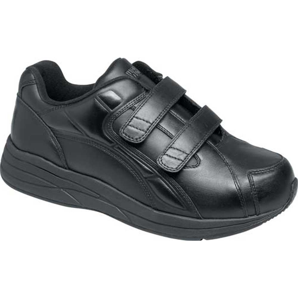 Drew Shoes - Force V - Black Leather - Athletic Shoe
