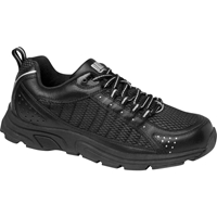 Drew Shoes - Helia - Black / Silver Leather / Mesh - Athletic Shoe