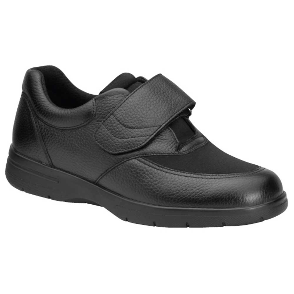 Drew Shoes - Journey - Black Leather - Casual Shoe