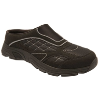 Drew Shoes - Juno - Black Microfiber Mesh - Athletic Shoe