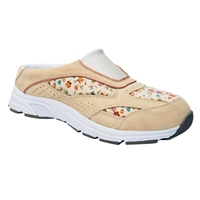 Drew Shoes - Juno - Cream Suede / Floral - Athletic Shoe