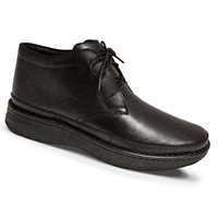 Drew Shoes - Keith - Black Leather - Boot Shoe