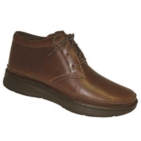 Drew Shoes - Keith - Brandy Leather - Boot Shoe
