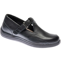 Drew Shoes - Lilac - Black Full Grain Leather - Casual, Dress