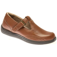 Drew Shoes - Lilac - Cognac Full Grain Leather - Casual, Dress