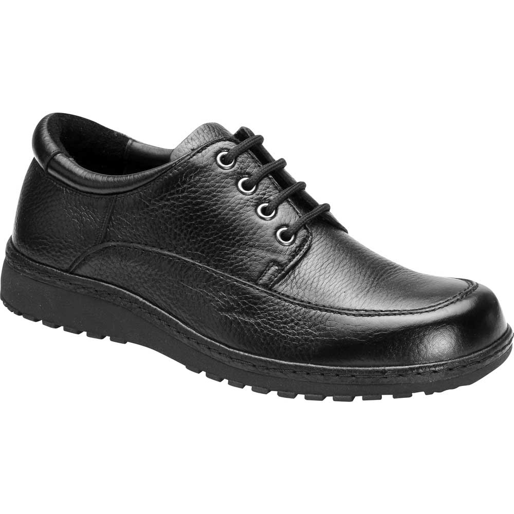 Drew Shoes - Lincoln - Black Leather - Casual Shoe