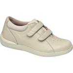 Drew Shoes - Lotus - Bone Full Grain Leather - Casual, Dress